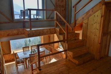 The original interior design