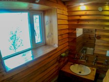The attached bathrooms