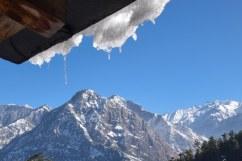 Wintertime. Seen from our veranda.
