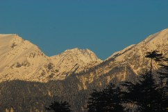 The Shrinkhand Mahadev seen from our Homestay